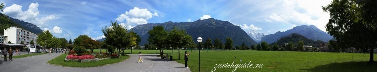 Интерлакен (Interlaken), Швейцария - путеводитель по городу Интерлакен, достопримечательности, что посмотреть. Как добраться - поезда в горы, Юнгфрау