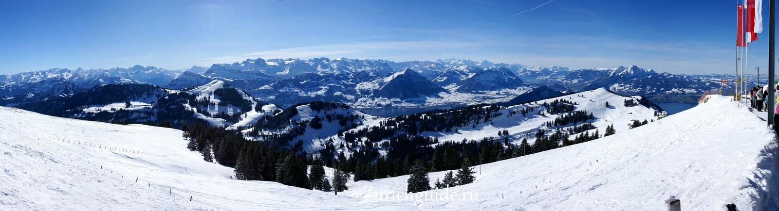 Гора Риги (Rigi), Швейцария