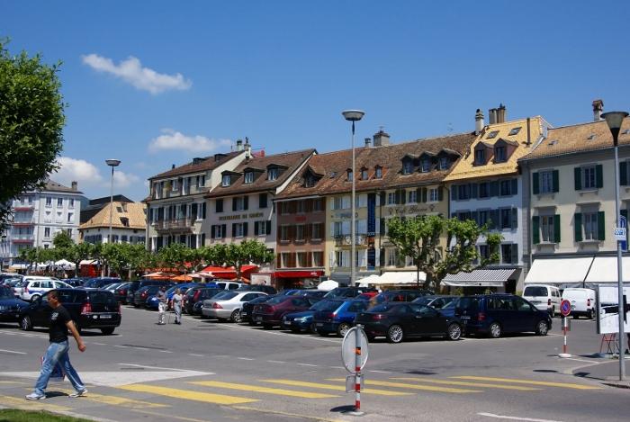 Веве (Vevey), Швейцарская Ривьера - путеводитель по городу, фото