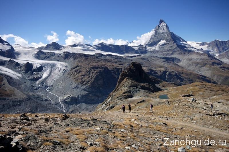 Маршрут Sonnenweg: Gornergrat-Riffelberg (Церматт) - хайкинг в Швейцарии