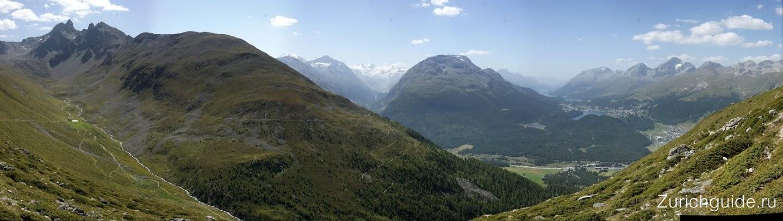 Философская тропа: Muottas Muragl - Alp Languard (Санкт-Моритц, Граубюнден) - самые зрелищные маршруты для хайкинга по Швейцарии - пешие горные прогулки