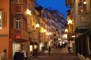 Рождество и новый год в Цюрихе