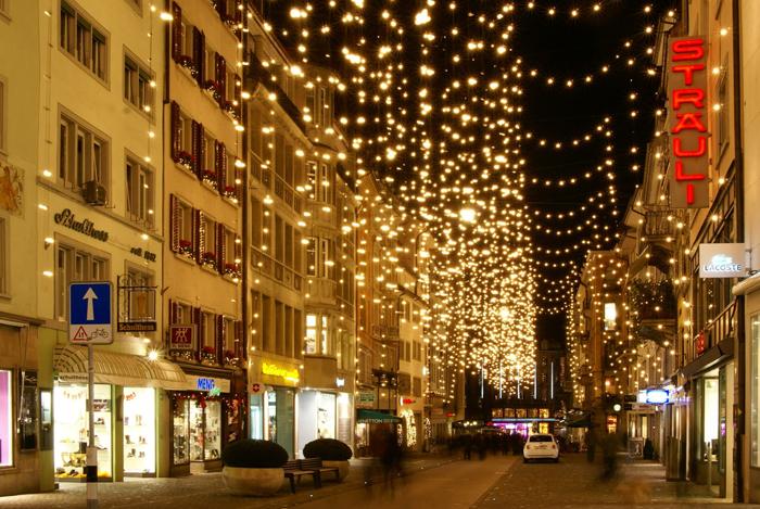"""2009-Рождество в Цюрихе """" travel - diary.ru"""