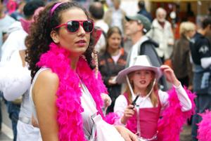 Музыкальный фестиваль Street Parade в Цюрихе
