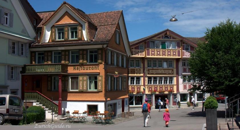 appenzell-10 Аппенцель (Appenzell), Швейцария - путеводитель по городу от ZurichGuide.ru, фото. Как добраться в Аппенцель, что посмотреть в Аппенцеле, кухня Аппенцеля