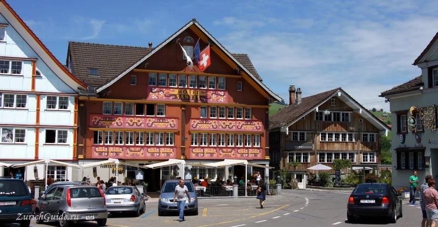 appenzell-17 Аппенцель (Appenzell), Швейцария - путеводитель по городу от ZurichGuide.ru, фото. Как добраться в Аппенцель, что посмотреть в Аппенцеле, кухня Аппенцеля