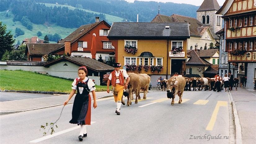 appenzell1 Аппенцель (Appenzell), Швейцария - путеводитель по городу от ZurichGuide.ru, фото. Как добраться в Аппенцель, что посмотреть в Аппенцеле, кухня Аппенцеля