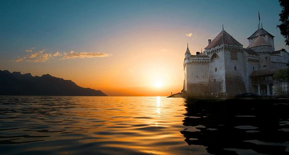 Женевское озеро, Шильонский замок