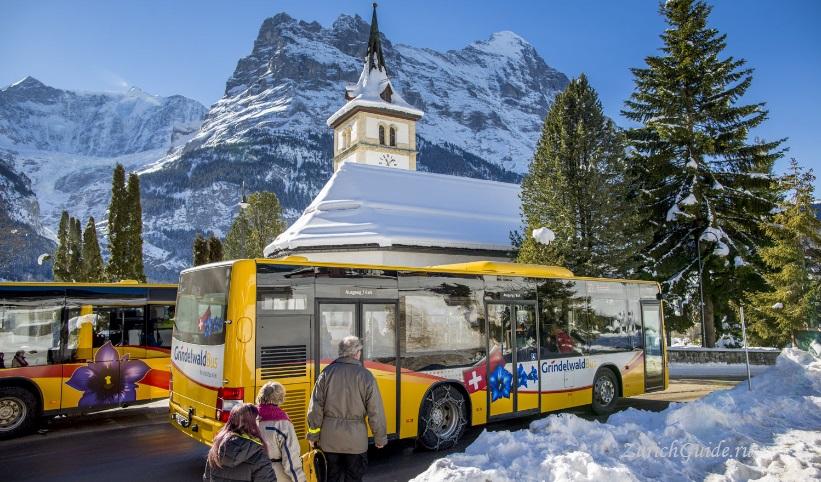 Grindelwald-11 Горнолыжный курорт Гриндельвальд (Grindelwald), Швейцария - как добраться, транспорт из аэропорта Цюриха и Женевы, фото, горнолыжные трассы, что посмотреть