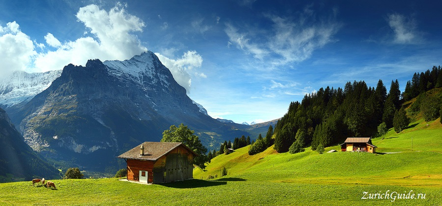 Grindelwald-12 Горнолыжный курорт Гриндельвальд (Grindelwald), Швейцария - как добраться, транспорт из аэропорта Цюриха и Женевы, фото, горнолыжные трассы, что посмотреть