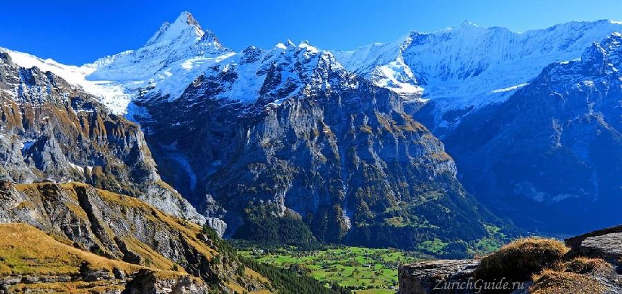 Grindelwald-6 Горнолыжный курорт Гриндельвальд (Grindelwald), Швейцария - как добраться, транспорт из аэропорта Цюриха и Женевы, фото, горнолыжные трассы, что посмотреть