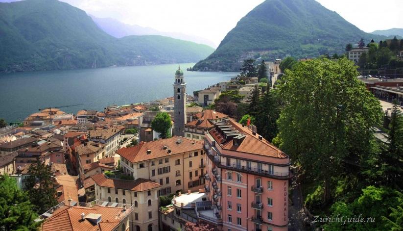 lugano-4 Лугано (Lugano), Швейцария - путеводитель по городу Лугано, достопримечательности Лугано, что посмотреть, как добраться, фото Лугано. Туристический марщрут