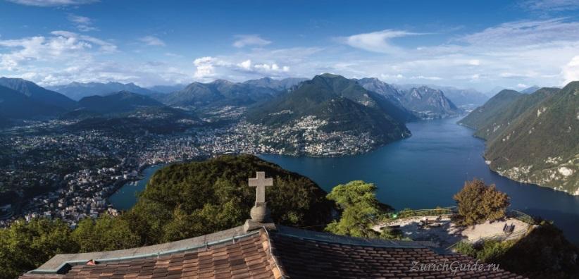 lugano-san-salvatore Лугано (Lugano), Швейцария - путеводитель по городу Лугано, достопримечательности Лугано, что посмотреть, как добраться, фото Лугано. Туристический марщрут
