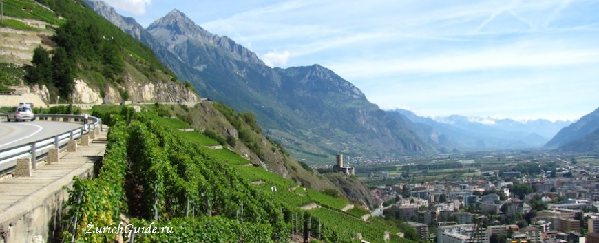 Martigny-3 Мартиньи (Martigny), Швейцария - путеводитель по городу, что посмотреть в Мартиньи, достопримечательности. Как добраться в Мартиньи - расписание, стоимость.