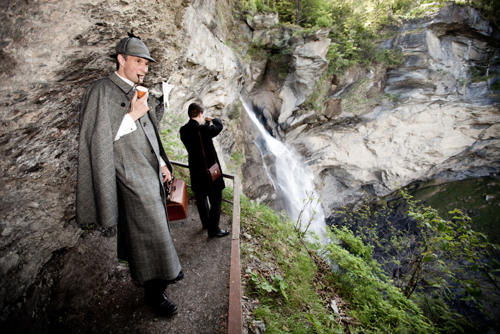 Рейхенбахский водопад, Майринген, Швейцария