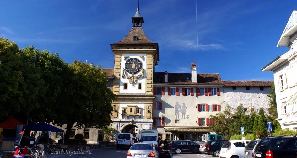 Murten-12 Муртен (Murten), Швейцария - путеводитель по городу, достопримечательности Муртена. Как добраться - расписание, стоимость. Фото Муртена, карта. Замок Муртен Муртен (Murten) или Морат (Morat)