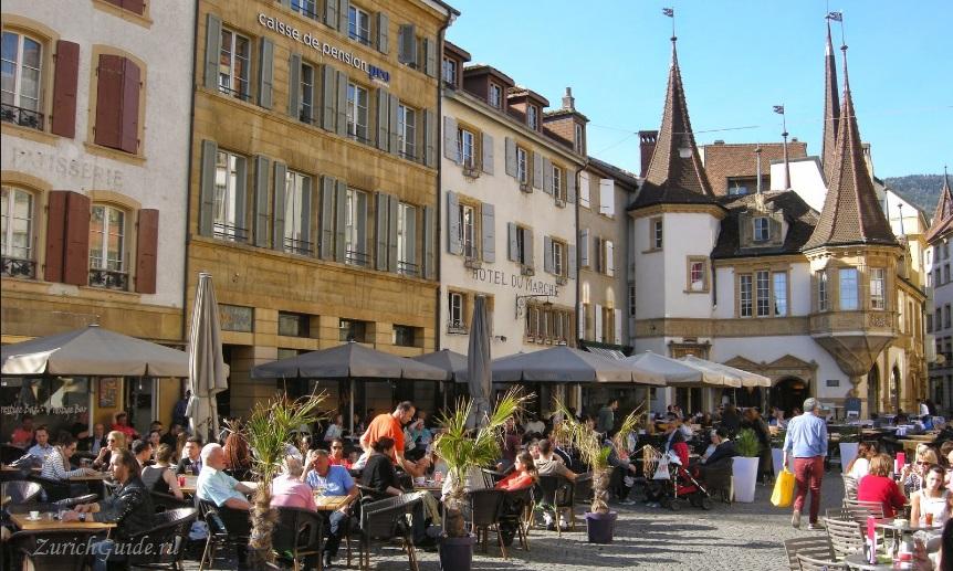 Neuchatel-1 Невшатель (Neuchatel), Швейцария - путеводитель по городу, достопримечательности Невшателя. Как добраться - расписание, стоимость. Карта Невшателя. Вокруг
