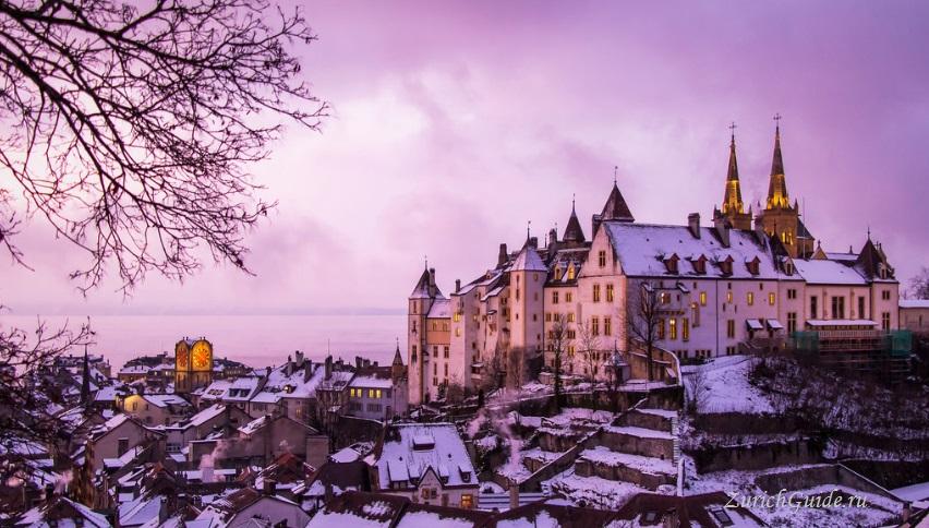 Neuchatel-10 Невшатель (Neuchatel), Швейцария - путеводитель по городу, достопримечательности Невшателя. Как добраться - расписание, стоимость. Карта Невшателя. Вокруг