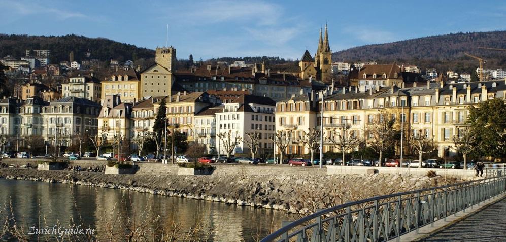 Neuchatel-5 Невшатель (Neuchatel), Швейцария - путеводитель по городу, достопримечательности Невшателя. Как добраться - расписание, стоимость. Карта Невшателя. Вокруг