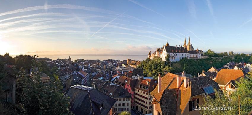Neuchatel-6 Невшатель (Neuchatel), Швейцария - путеводитель по городу, достопримечательности Невшателя. Как добраться - расписание, стоимость. Карта Невшателя. Вокруг