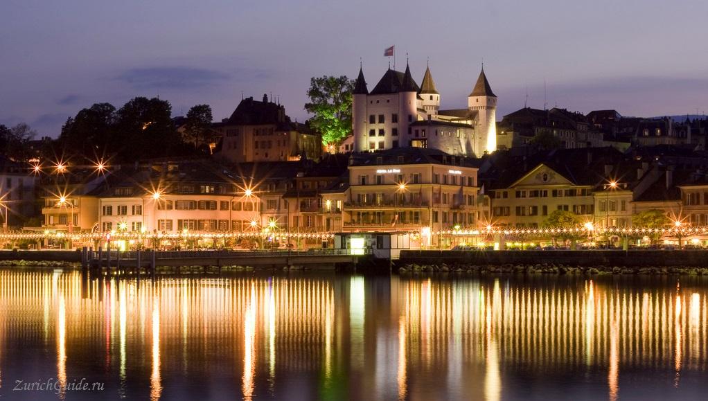 Nyon-1 Ньон (Nyon), Швейцария, в окрестностях Женевы. Путеводитель по городу Ньон, достопримечательности Ньона, туристический маршрут. Что посмотреть, сэкономить