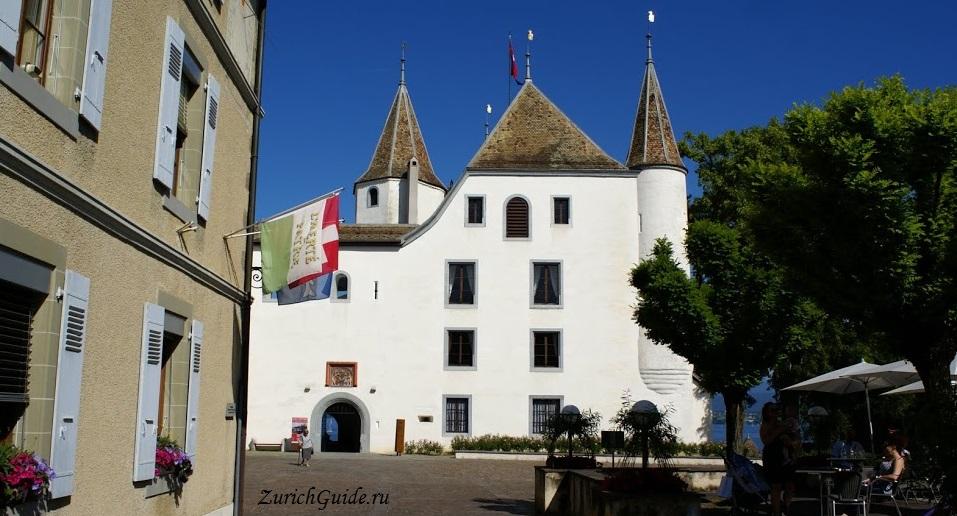 Nyon-15 Ньон (Nyon), Швейцария, в окрестностях Женевы. Путеводитель по городу Ньон, достопримечательности Ньона, туристический маршрут. Что посмотреть, сэкономить