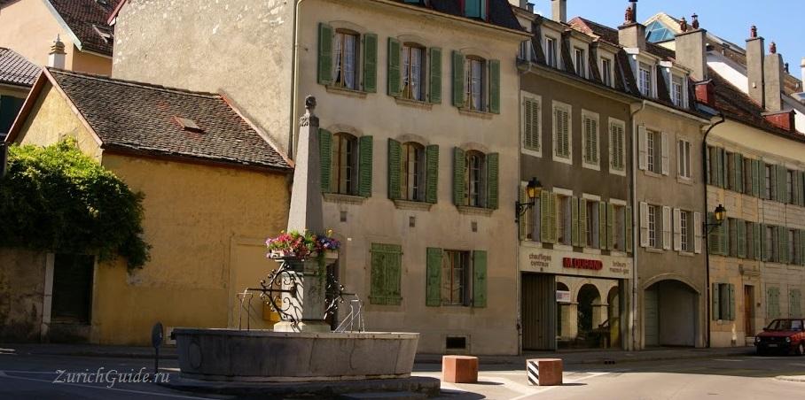 Nyon-16 Ньон (Nyon), Швейцария, в окрестностях Женевы. Путеводитель по городу Ньон, достопримечательности Ньона, туристический маршрут. Что посмотреть, сэкономить