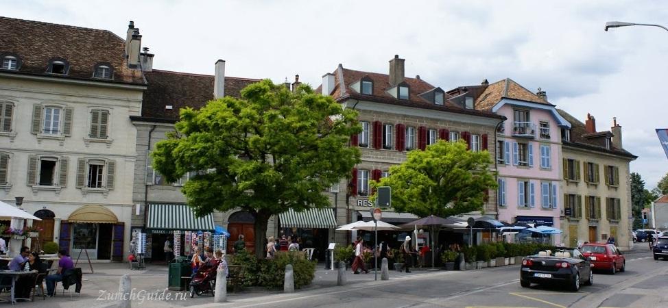 Nyon-19 Ньон (Nyon), Швейцария, в окрестностях Женевы. Путеводитель по городу Ньон, достопримечательности Ньона, туристический маршрут. Что посмотреть, сэкономить