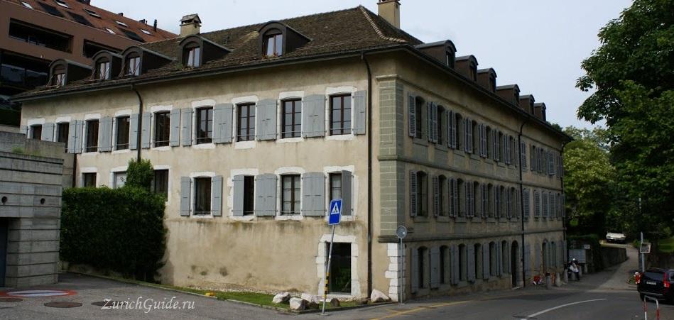 Nyon-20 Ньон (Nyon), Швейцария, в окрестностях Женевы. Путеводитель по городу Ньон, достопримечательности Ньона, туристический маршрут. Что посмотреть, сэкономить