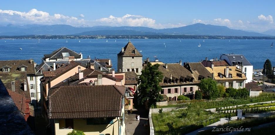 Nyon-23 Ньон (Nyon), Швейцария, в окрестностях Женевы. Путеводитель по городу Ньон, достопримечательности Ньона, туристический маршрут. Что посмотреть, сэкономить