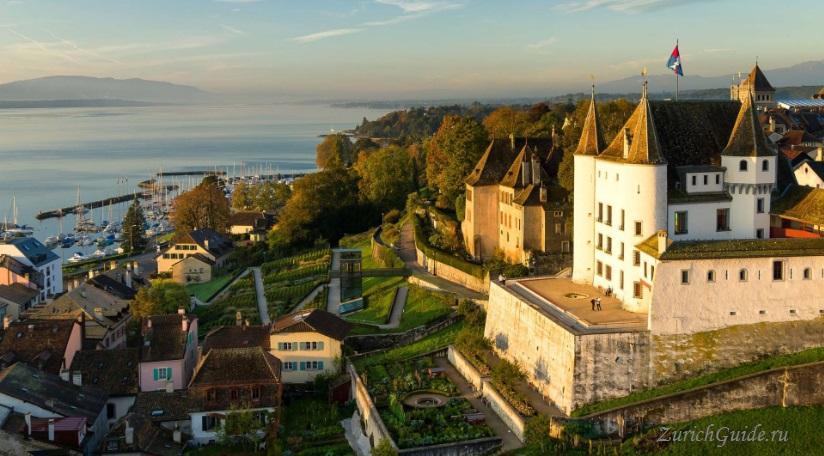 Nyon-4 Ньон (Nyon), Швейцария, в окрестностях Женевы. Путеводитель по городу Ньон, достопримечательности Ньона, туристический маршрут. Что посмотреть, сэкономить