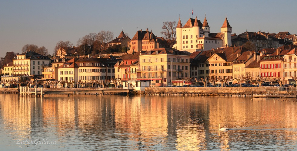 Nyon-5 Ньон (Nyon), Швейцария, в окрестностях Женевы. Путеводитель по городу Ньон, достопримечательности Ньона, туристический маршрут. Что посмотреть, сэкономить