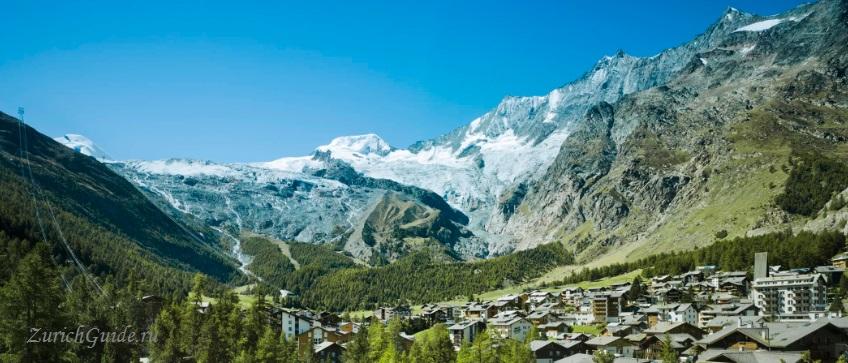 Saas-Fee-1 Горнолыжный курорт Саас-Фе или Зас-Фе (Saas Fee), Швейцария - как добраться из аэропорта, стоимость, ски-пассы, карта склонов. Что посмотреть в Саас-Фе