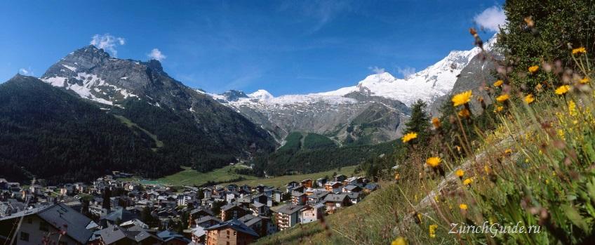 Saas-Fee-4 Горнолыжный курорт Саас-Фе или Зас-Фе (Saas Fee), Швейцария - как добраться из аэропорта, стоимость, ски-пассы, карта склонов. Что посмотреть в Саас-Фе