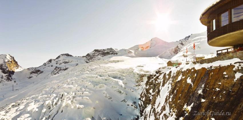 Saas-Fee-6 Горнолыжный курорт Саас-Фе или Зас-Фе (Saas Fee), Швейцария - как добраться из аэропорта, стоимость, ски-пассы, карта склонов. Что посмотреть в Саас-Фе