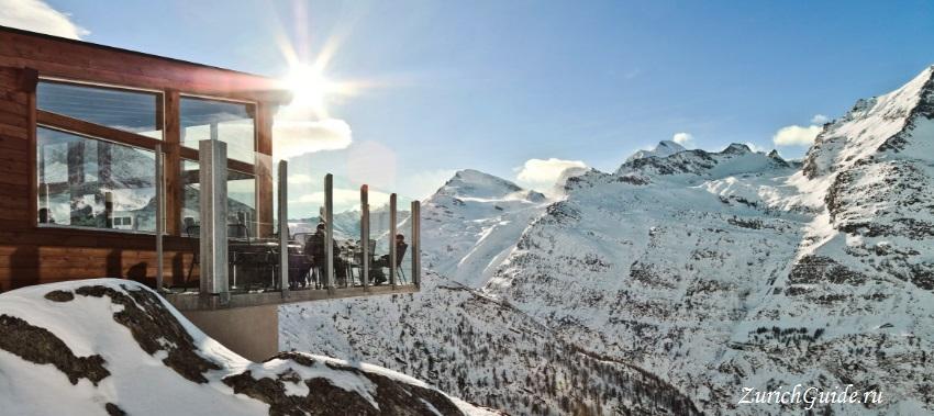 Saas-Fee-7 Горнолыжный курорт Саас-Фе или Зас-Фе (Saas Fee), Швейцария - как добраться из аэропорта, стоимость, ски-пассы, карта склонов. Что посмотреть в Саас-Фе