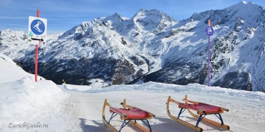 Saas-Fee-9 Горнолыжный курорт Саас-Фе или Зас-Фе (Saas Fee), Швейцария - как добраться из аэропорта, стоимость, ски-пассы, карта склонов. Что посмотреть в Саас-Фе
