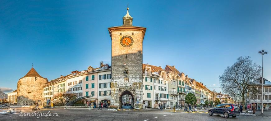 Золотурн, Швейцария - путеводитель по городу