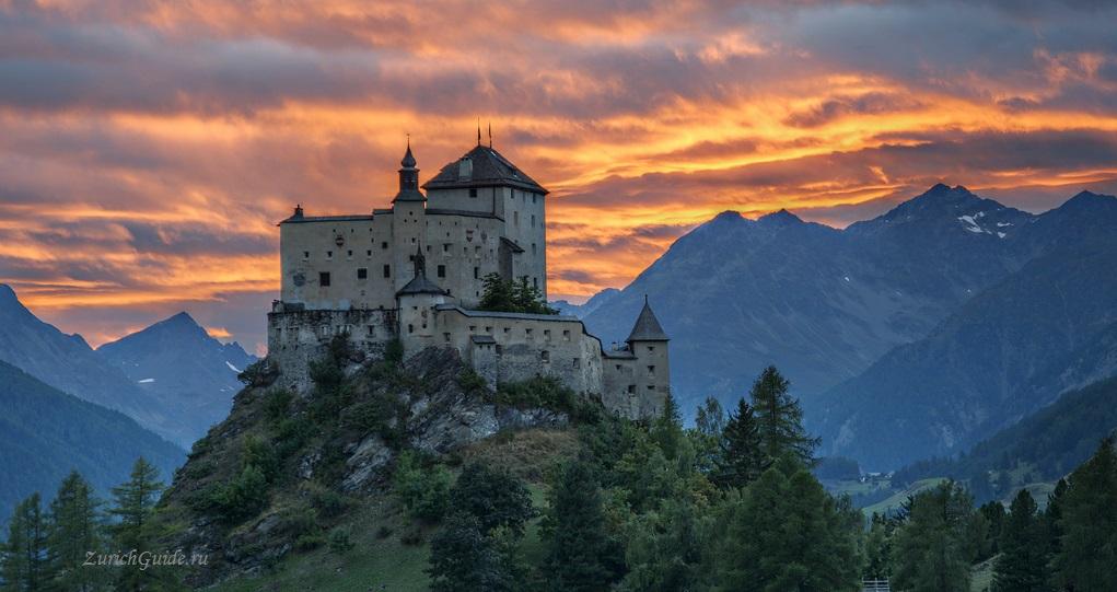 Тарасп замок, Швейцария