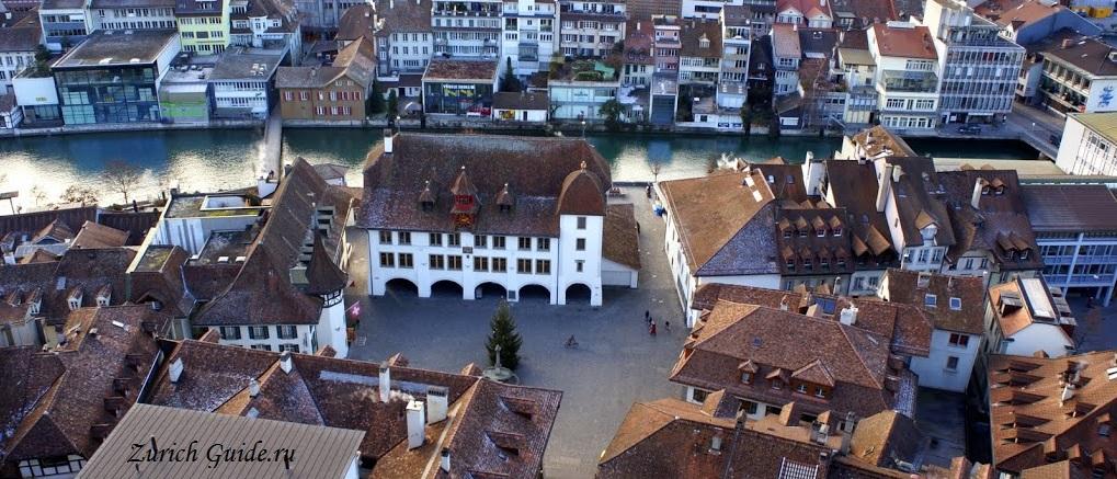 Thun-15 Тун (Thun), Швейцария - что посмотреть в Туне, достопримечательности, замок Туна, фото. Маршрут по Туну. Как добраться - расписание, стоимость. Вокруг Туна