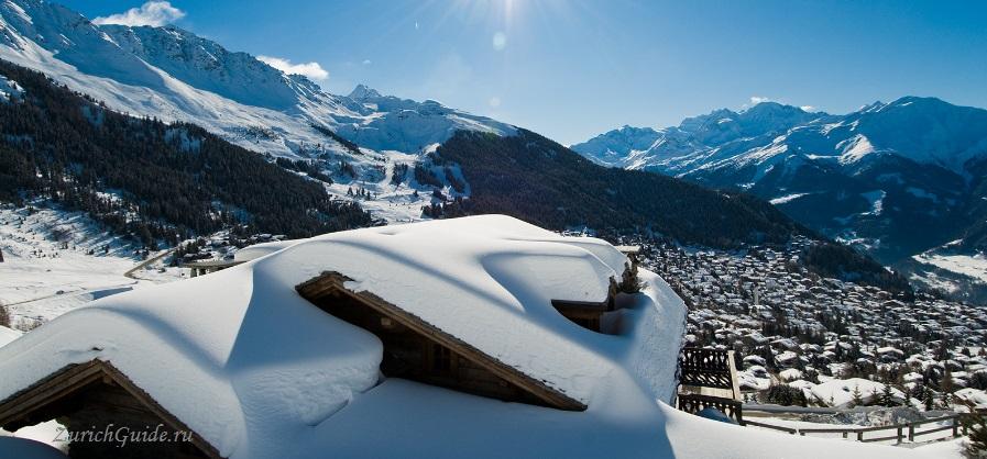 Verbier-2 Горнолыжный курорт Вербье (Verbier), Швейцария - как добраться в Вербье, расписание, проезд из аэропорта, цены. Ски-пассы, описание курорта. Фото Вербье