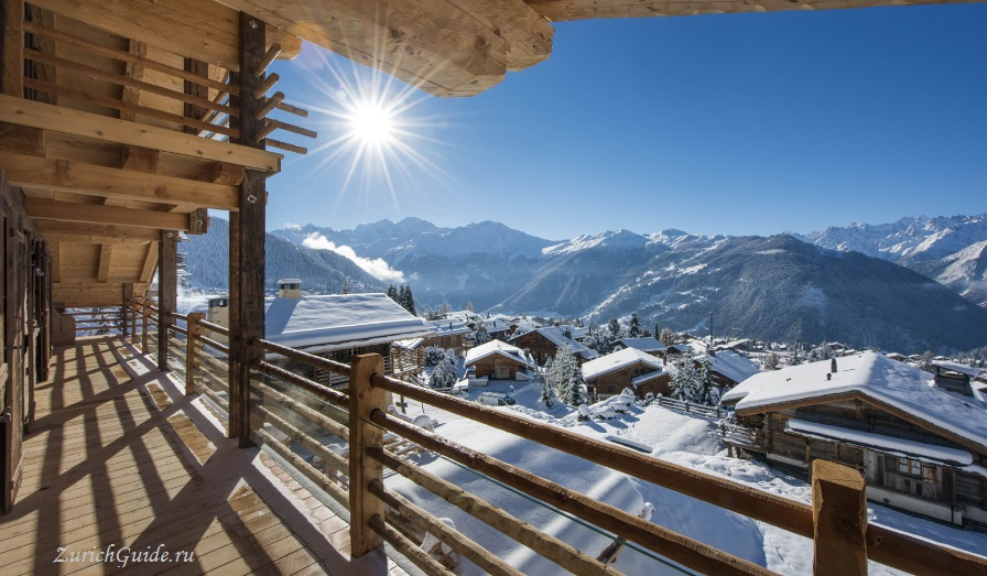 Verbier-chalet-winter-snow Горнолыжный курорт Вербье (Verbier), Швейцария - как добраться в Вербье, расписание, проезд из аэропорта, цены. Ски-пассы, описание курорта. Фото Вербье