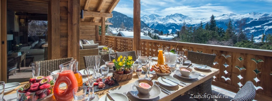 Verbier-eat-chalet-restaurant Горнолыжный курорт Вербье (Verbier), Швейцария - как добраться в Вербье, расписание, проезд из аэропорта, цены. Ски-пассы, описание курорта. Фото Вербье