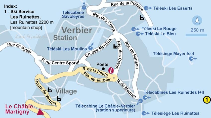 Verbier-ski-rental Горнолыжный курорт Вербье (Verbier), Швейцария - как добраться в Вербье, расписание, проезд из аэропорта, цены. Ски-пассы, описание курорта. Фото Вербье
