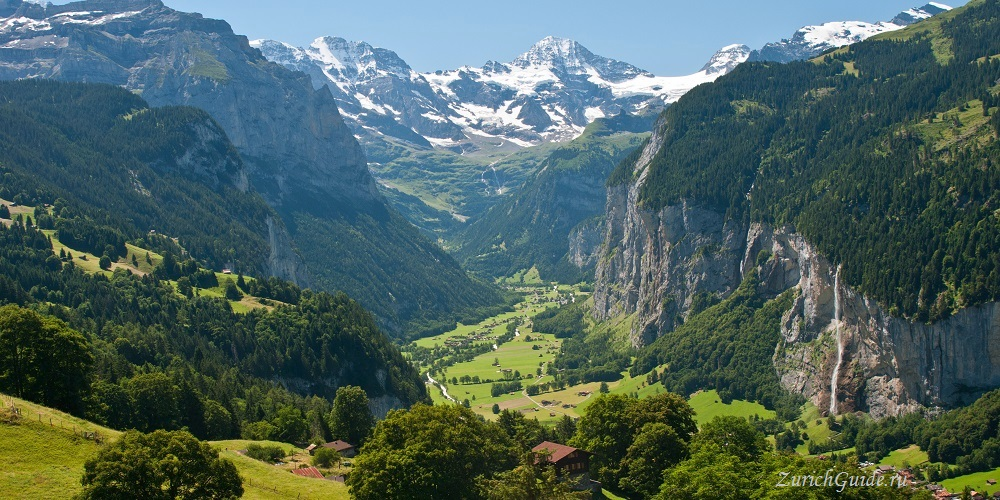 Wengen-2 Венген (Wengen), Швейцария - горнолыжный курорт Венген в Швейцарии - история, путеводитель по Венгену, фото. Карта горнолыжных склонов Венгена, цены