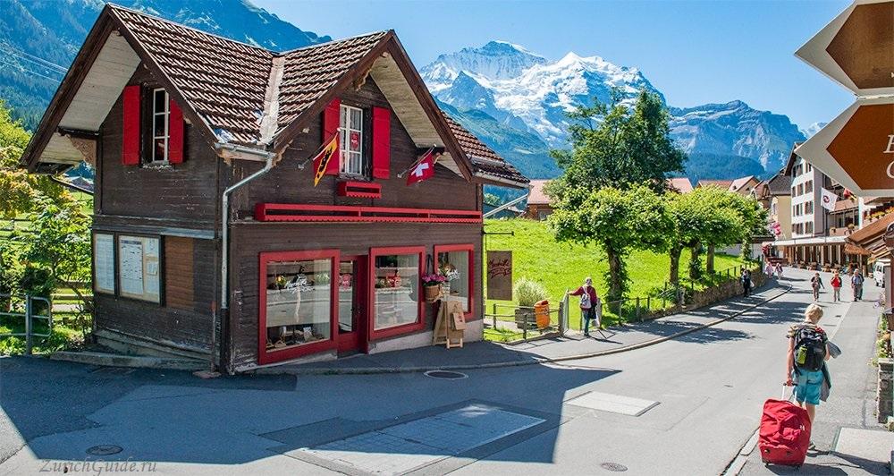 Wengen-4 Венген (Wengen), Швейцария - горнолыжный курорт Венген в Швейцарии - история, путеводитель по Венгену, фото. Карта горнолыжных склонов Венгена, цены