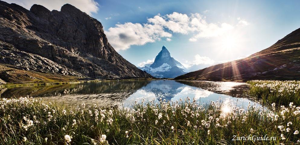 Zermatt Горнолыжный курорт Церматт (Zermatt), Швейцария - как добраться - расписание, цены, как сэкономить. Что посмотреть - достопримечательности, карта, фото