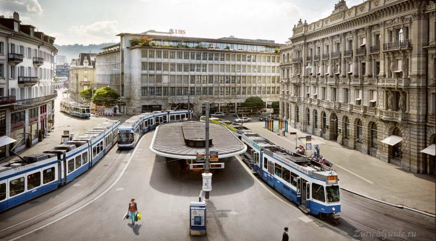 Транспорт по Цюриху