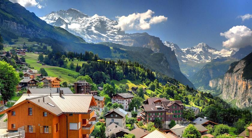 hotel edelweiss wengen switzerland Венген (Wengen), Швейцария - горнолыжный курорт Венген в Швейцарии - история, путеводитель по Венгену, фото. Карта горнолыжных склонов Венгена, цены