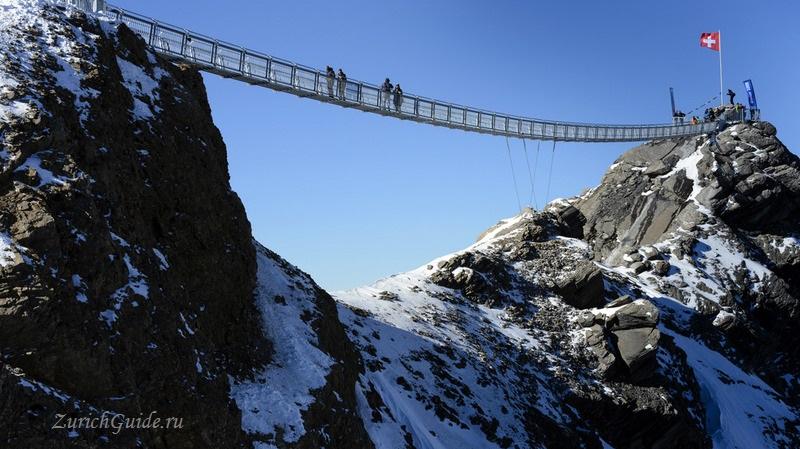 Les Diablerets-4 Горнолыжный курорт Ле Диаблере (Les Diablerets) - как добраться из аэропорта - расписание, цены. Ски-пассы Glacier 3000. Подвесной мост и Tissot Walk
